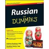 Russian for dummies Böcker Russian for Dummies [With CD (Audio)]